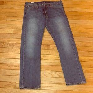 Mens Levi's 513 jeans 36x20